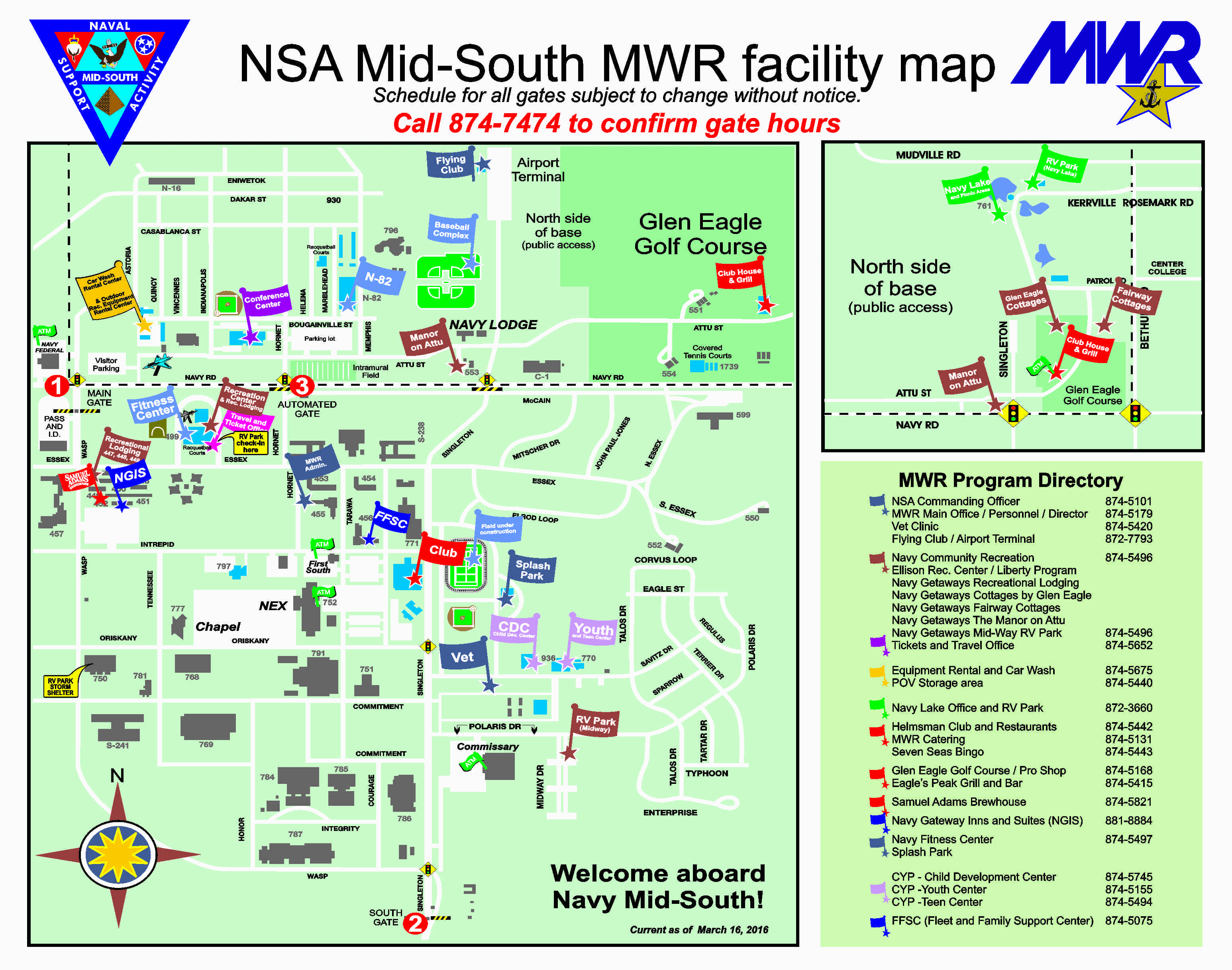 MWR Facility / Base Map